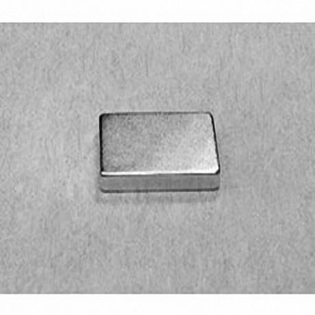 """BC82 Neodymium Block Magnet, 3/4"""" x 1/2"""" x 1/8"""" thick"""