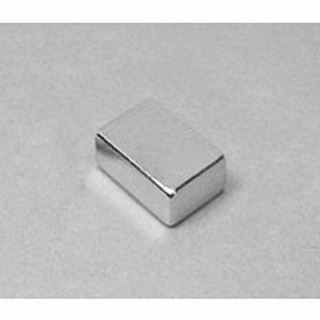 """BC84 Neodymium Block Magnet, 3/4"""" x 1/2"""" x 1/4"""" thick"""