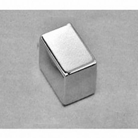 """BC88 Neodymium Block Magnet, 3/4"""" x 1/2"""" x 1/2"""" thick"""