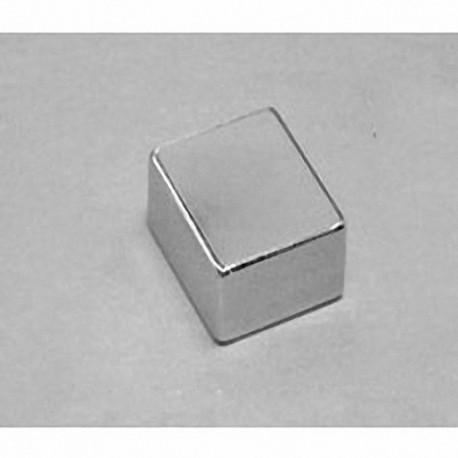 """BCA6 Neodymium Block Magnet, 3/4"""" x 5/8"""" x 3/8"""" thick"""