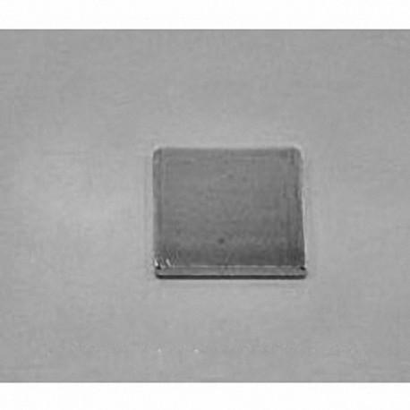 """BCC1 Neodymium Block Magnet, 3/4"""" x 3/4"""" x 1/16"""" thick"""