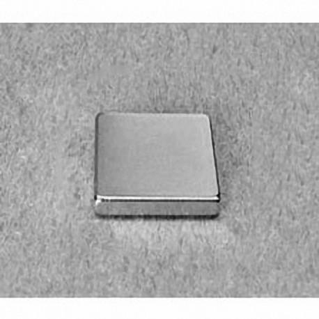 """BCC2 Neodymium Block Magnet, 3/4"""" x 3/4"""" x 1/8"""" thick"""