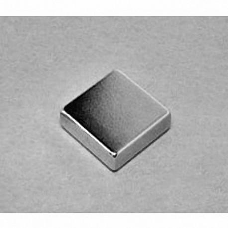 """BCC3 Neodymium Block Magnet, 3/4"""" x 3/4"""" x 3/16"""" thick"""