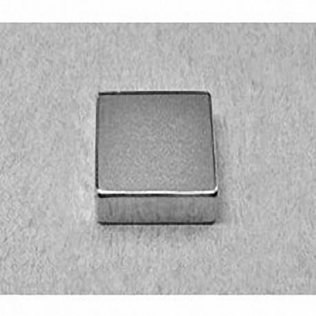 """BCC4 Neodymium Block Magnet, 3/4"""" x 3/4"""" x 1/4"""" thick"""