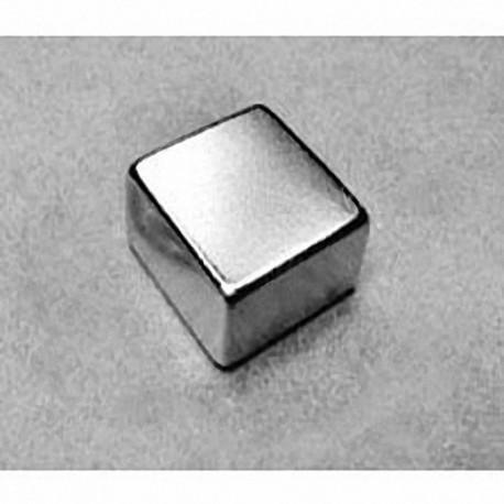"""BCC6 Neodymium Block Magnet, 3/4"""" x 3/4"""" x 3/8"""" thick"""