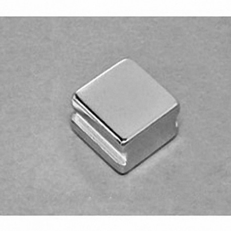 """SBCC6-IN Neodymium Block Magnet, 3/4"""" length x 3/4"""" width x 3/8"""" thick , with step IN"""