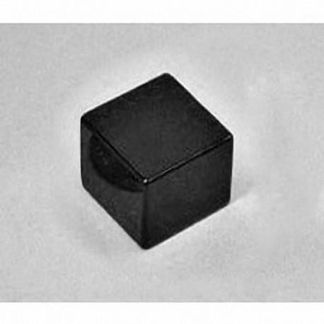 "BCC8E Neodymium Block Magnet, 3/4"" x 3/4"" x 1/2"" thick"