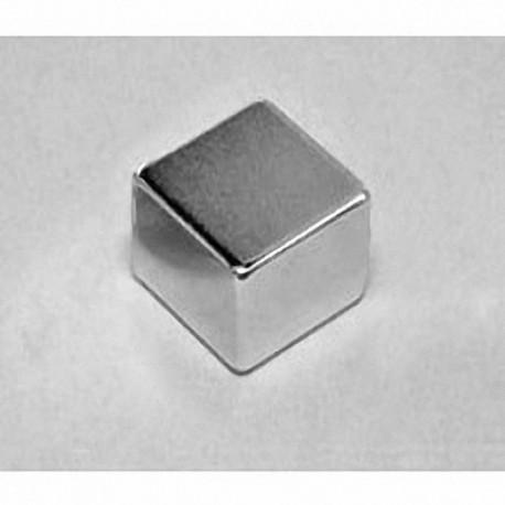 """BCC8-N52 Neodymium Block Magnet, 3/4"""" x 3/4"""" x 1/2"""" thick"""