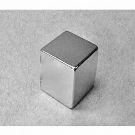 "BCCC Neodymium Block Magnet, 3/4"" x 3/4"" x 3/4"" thick"