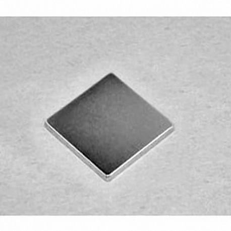 """BEE1 Neodymium Block Magnet, 7/8"""" x 7/8"""" x 1/16"""" thick"""