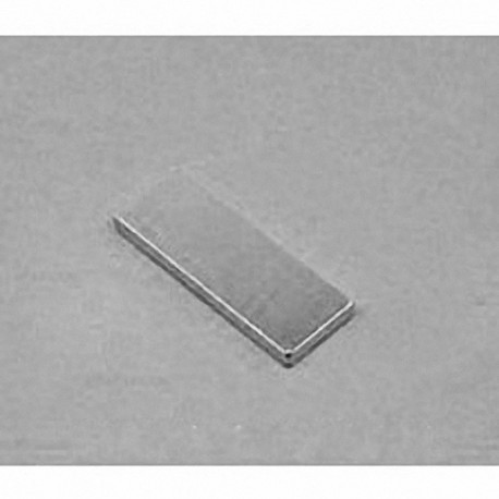 """BX061 Neodymium Block Magnet, 1"""" x 3/8"""" x 1/16"""" thick"""