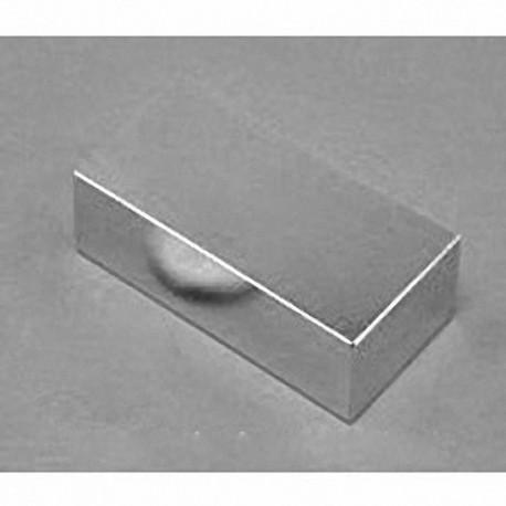 "BX08Y0 Neodymium Block Magnet, 1"" x 3/4"" x 1/16"" thick"