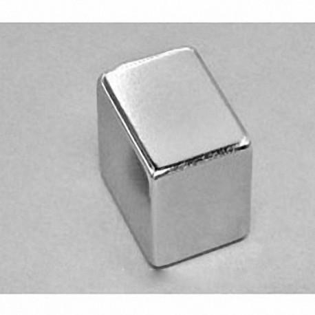 "BX0CC Neodymium Block Magnet, 1"" x 1"" x 1/16"" thick"