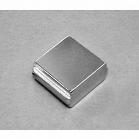 """SBX0X06-OUT Neodymium Block Magnet, 1"""" x 1"""" x 1/2"""" thick"""