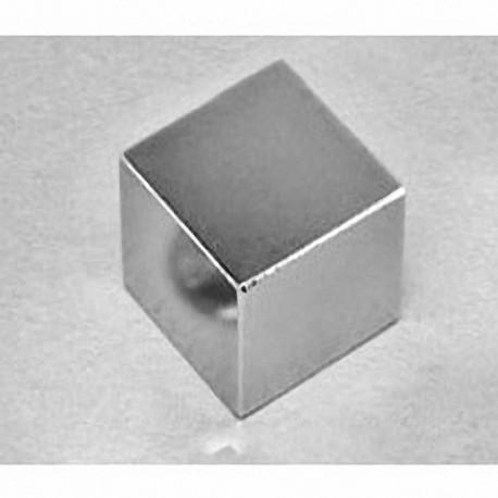 """BX0X0C Neodymium Block Magnet, 1"""" x 1"""" x 1"""" thick"""