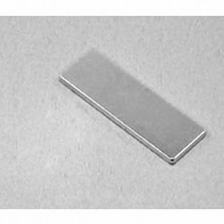 """BX881 Neodymium Block Magnet, 1 1/2"""" x 1/2"""" x 1/8"""" thick"""