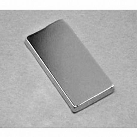 """BX8C2 Neodymium Block Magnet, 1 1/2"""" x 3/4"""" x 1/4"""" thick"""