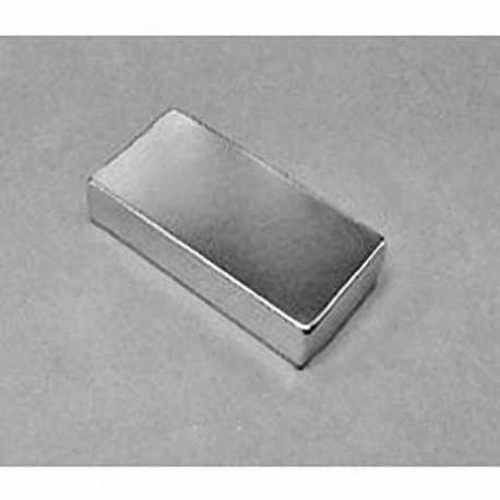 """BX8C4-N52 Neodymium Block Magnet, 1 1/2"""" x 3/4"""" x 1/4"""" thick"""