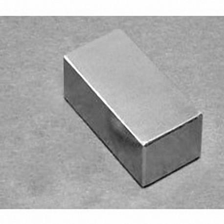 """BX8C8 Neodymium Block Magnet, 1 1/2"""" x 1"""" x 1/16"""" thick"""