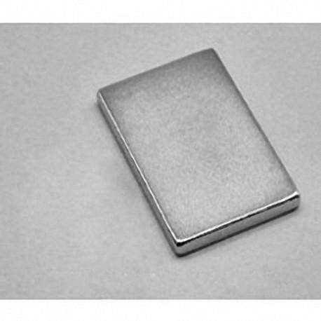 """BX8X02 Neodymium Block Magnet, 1 1/2"""" x 1"""" x 1/4"""" thick"""