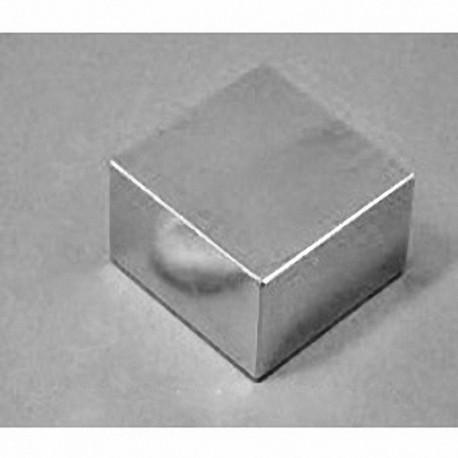 """BX8X8C Neodymium Block Magnet, 1 1/2"""" x 1 1/2"""" x 3/4"""" thick"""