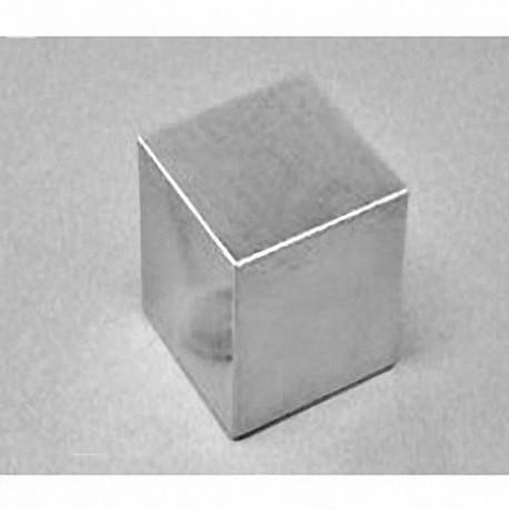 "BX8X8X8-N52 Neodymium Block Magnet, 1 1/2"" x 1 1/2"" x 1 1/2"" thick"