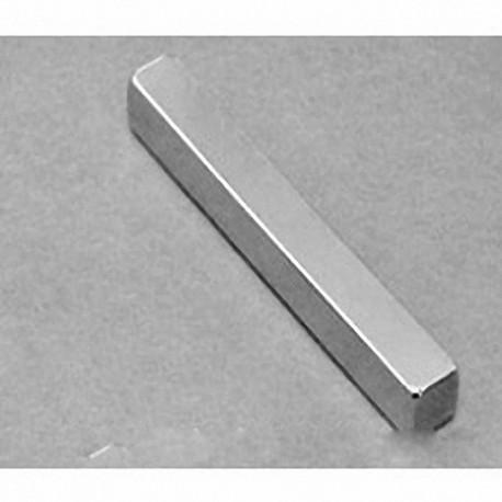 """BY044 Neodymium Block Magnet, 2"""" x 3/8"""" x 1/16"""" thick"""