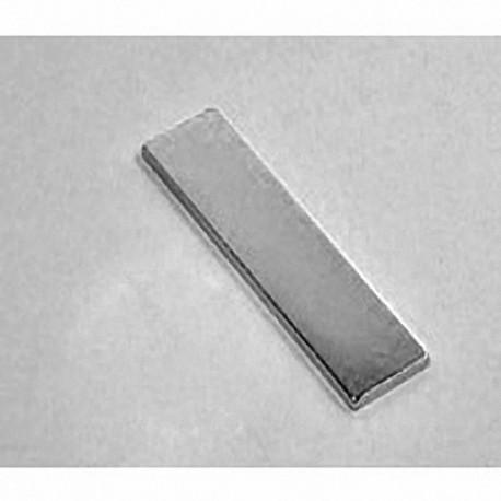 """BY081 Neodymium Block Magnet, 2"""" x 1/2"""" x 1/8"""" thick"""