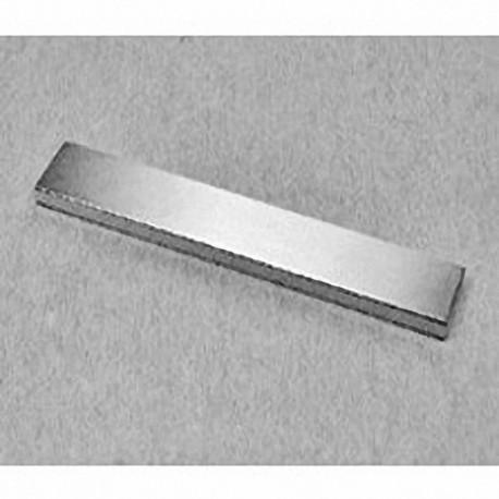 """BZ082 Neodymium Block Magnet, 3"""" x 1/2"""" x 1/4"""" thick"""