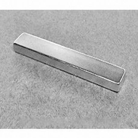 """BZ084 Neodymium Block Magnet, 3"""" x 1"""" x 1/8"""" thick"""