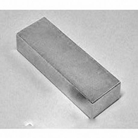 """BZ0X82 Neodymium Block Magnet, 3"""" x 1 1/2"""" x 1/4"""" thick"""