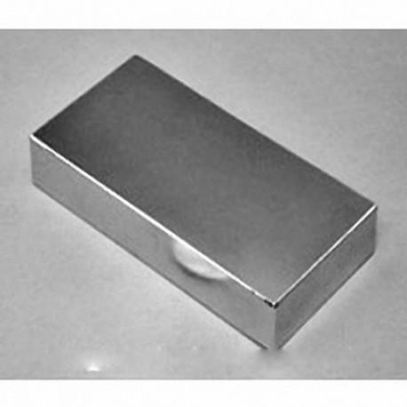 """BZ0X88-N52 Neodymium Block Magnet, 3"""" x 1 1/2"""" x 3/4"""" thick"""