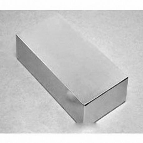 """BZ0X8C-N52 Neodymium Block Magnet, 3"""" x 2"""" x 1/2"""" thick"""