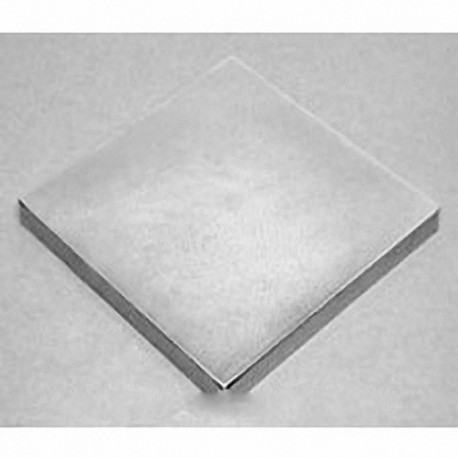 "BZ0Z04-N52 Neodymium Block Magnet, 3"" x 3"" x 1/2"" thick"