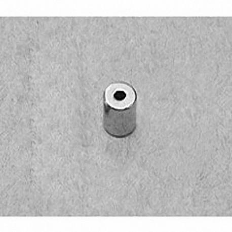 "R313 Neodymium Ring Magnet, 3/16"" od x 1/16"" id x 3/16"" thick"