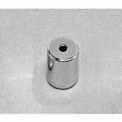 "R6036DIA Neodymium Ring Magnet, 3/8"" od x 3/32"" id x 3/8"" thick"