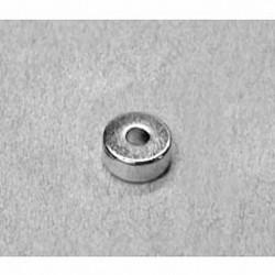 "R622 Neodymium Ring Magnet, 3/8"" od x 1/8"" id x 1/8"" thick"