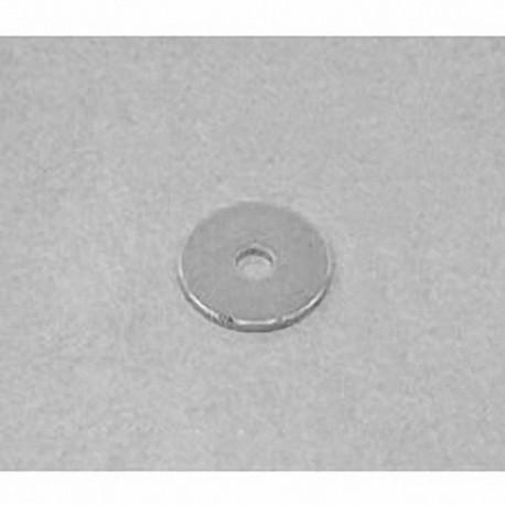 "R8201 Neodymium Ring Magnet, 1/2"" od x 1/8"" id x 1/32"" thick"