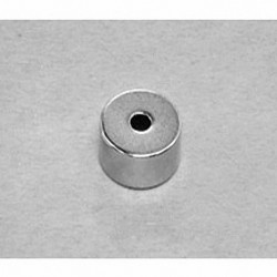 "R824 Neodymium Ring Magnet, 1/2"" od x 1/8"" id x 1/4"" thick"