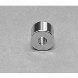 "R834DIA Neodymium Ring Magnet, 1/2"" od x 3/16"" id x 1/4"" thick"