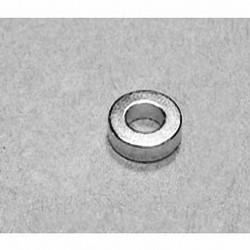 "R842 Neodymium Ring Magnet, 1/2"" od x 1/4"" id x 1/8"" thick"