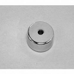 "RA24 Neodymium Ring Magnet, 5/8"" od x 1/8"" id x 1/8"" id x 1/4"" thick"