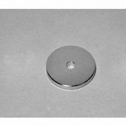 "RC21 Neodymium Ring Magnet, 3/4"" od x 1/8"" id x 1/16"" thick"