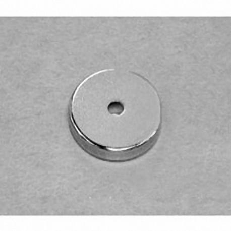 "RC22 Neodymium Ring Magnet, 3/4"" od x 1/8"" id x 1/8"" thick"