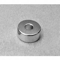 "RC44 Neodymium Ring Magnet, 3/4"" od x 1/4"" id x 1/4"" thick"