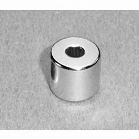 "RC48 Neodymium Ring Magnet, 3/4"" od x 1/4"" id x 1/2"" thick"