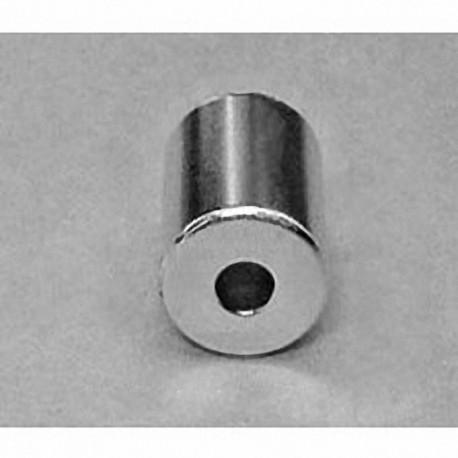 "RC4CDIA Neodymium Ring Magnet, 3/4"" od x 1/4"" id x 3/4"" thick"