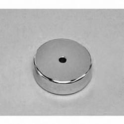 "RX024DIA Neodymium Ring Magnet, 1"" od x 1/8"" id x 1/4"" thick"