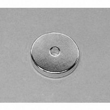 "RX032 Neodymium Ring Magnet, 1"" od x 3/16"" id x 1/8"" thick"