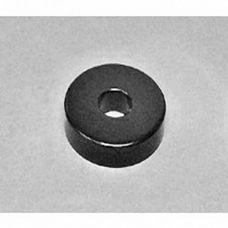 """RX054E Neodymium Ring Magnet, 1"""" od x 5/16"""" id x 1/4"""" thick"""